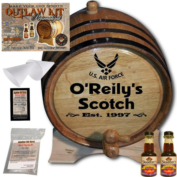Personalized Outlaw Kit™ (017) Air Force Spirit - U.S. Air Force