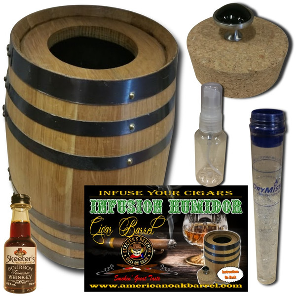 INFUSION HUMIDOR CIGAR BARREL™ - TENNESSEE BOURBON WHISKEY