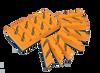 Cquartz 8Finger Applicator Blocks  (8F)