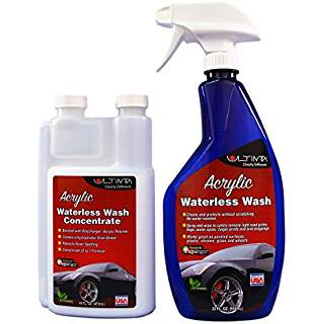 Ultima Acrylic Waterless Wash Concentrate 16 Oz Bundle W Bottle