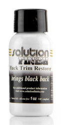 Solution Finish Black Trim Restorer - 1 oz.