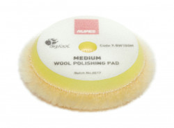 RUPES Yellow Medium Wool Pad - 3""