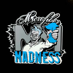 Microfiber Madness Sticker