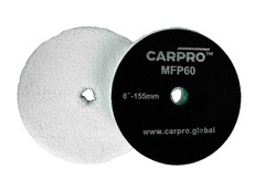 """CarPro Microfiber Cutting Pad - 6"""" (Qty 1) Image shows 2 pads for information only"""