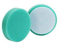 "(2 Pack) 4"" Buff & Shine Green Polishing Pad"