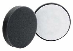 "(2 Pack) 4"" Buff & Shine Black Finishing Pad"