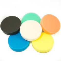 "(6 Pack) 5 1/2"" Buff and Shine Foam Pads"