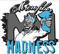 Microfiber Madness: Banner 4 Ft x 4 Ft