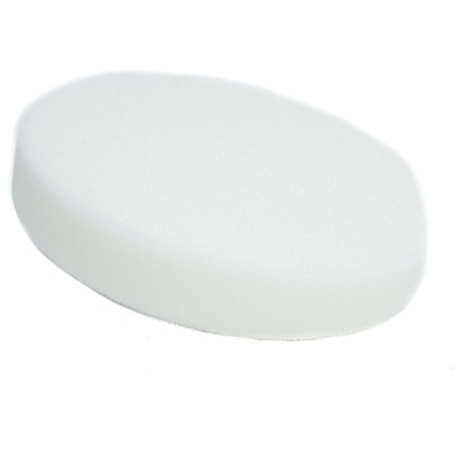 "5 1/2"" Buff and Shine White Heavy Polishing Pad"