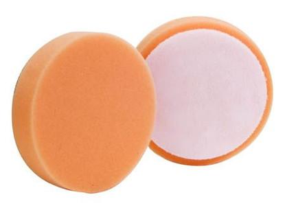 "(2 Pack) 4"" Buff & Shine Orange Medium Cutting Pad"