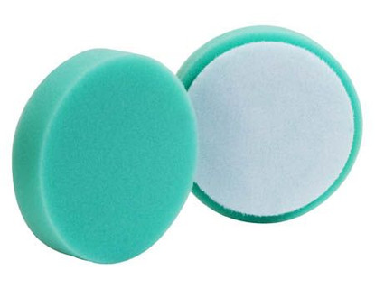 "(2 Pack) 4"" Buff & Shine Green Polishing Pad"