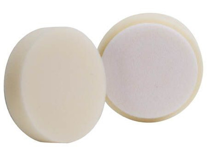 "(2 Pack) 4"" Buff & Shine White Jeweling Pad"