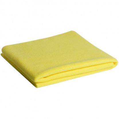 "Microfiber Madness Yellow Fellow 16"" x 24"""