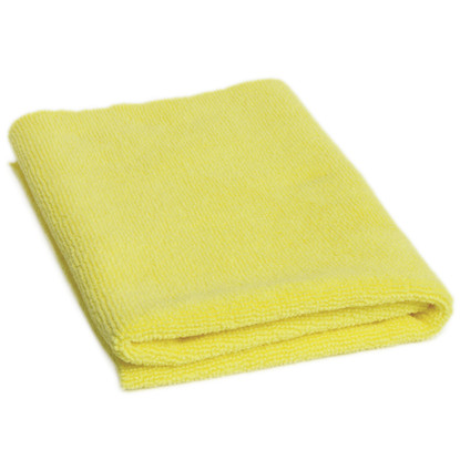 "Microfiber Madness Yellow Fellow 16"" x 16"""