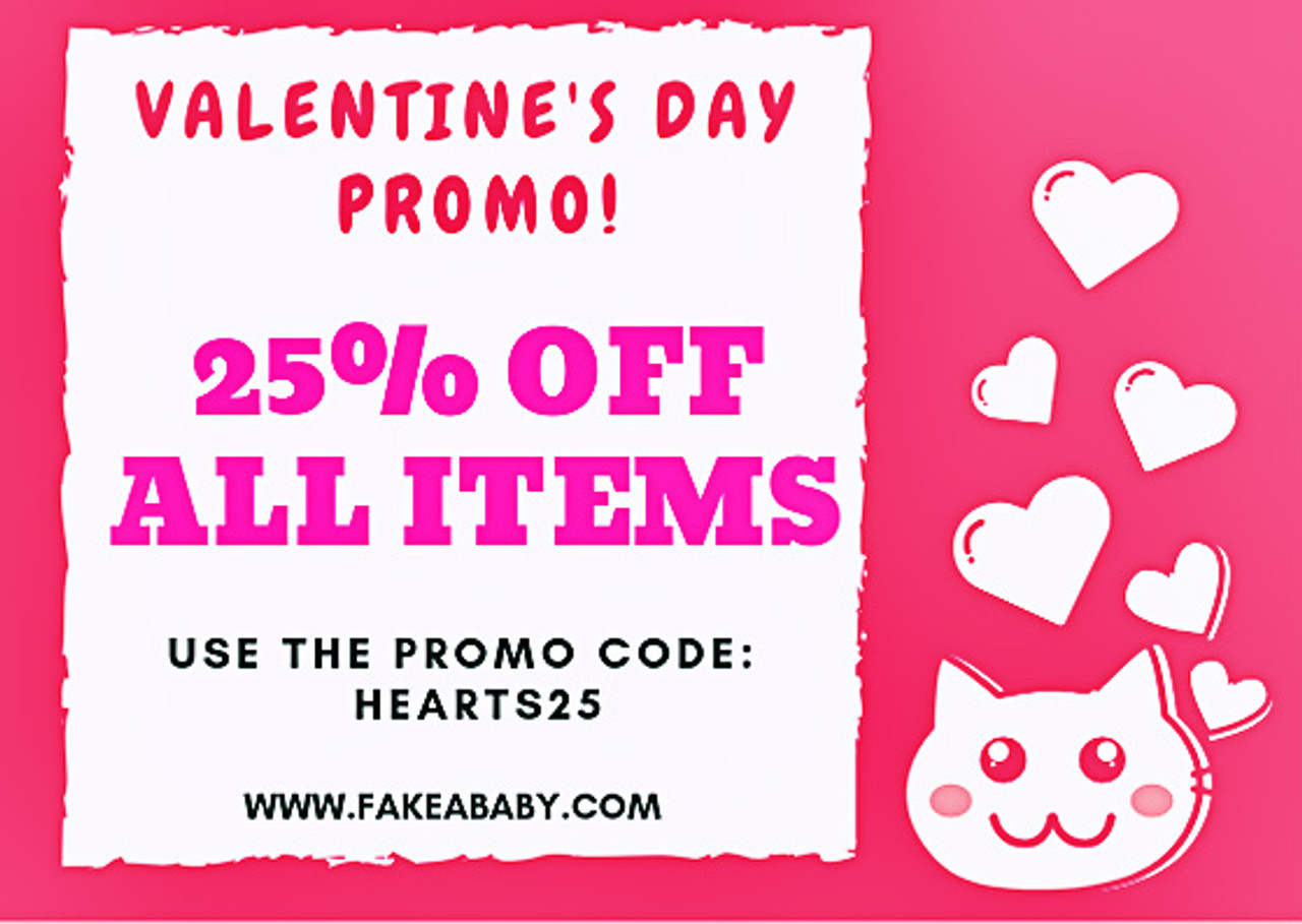 Valentine's Promo: 25% OFF ON ALL ITEMS
