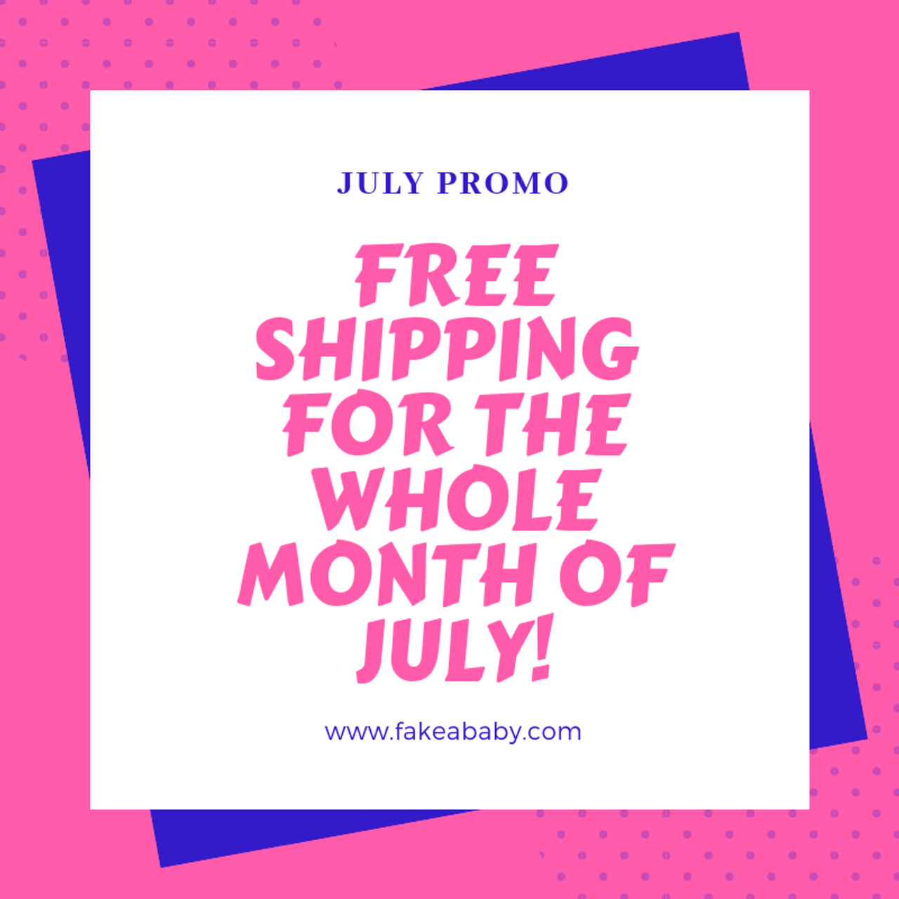 Hot August Treat: FREE SHIPPING!