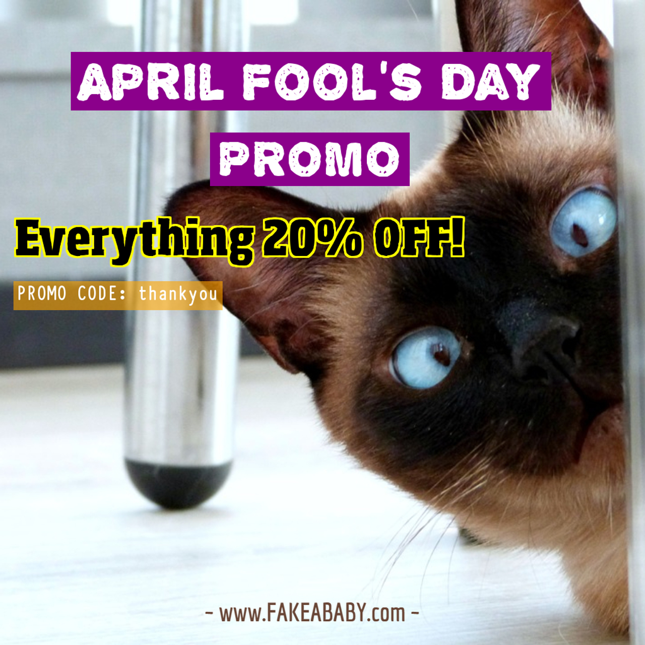 April Fool's Day Prank Ideas and Gag Gifts | Fake a Baby