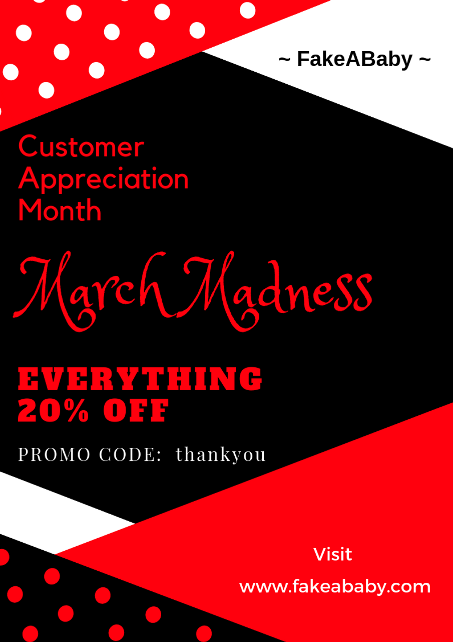 March SALE Madness: 20% OFF on all items!
