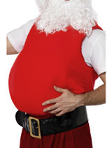 Fabric Fake Santa Claus Belly Costume for Christmas!