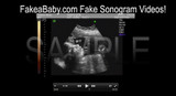 Fake Sonogram Video