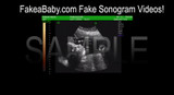 Custom Sonogram Video