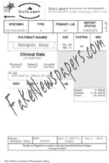 Fake Pregnancy Document