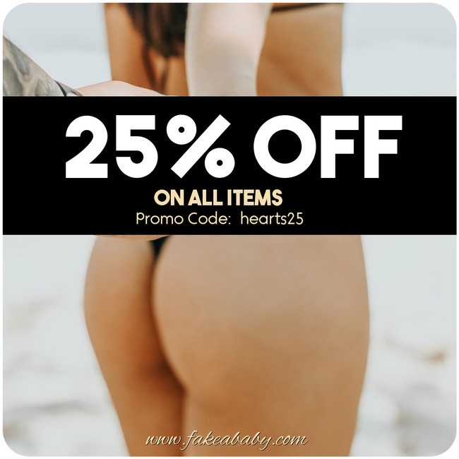 February Promo: 25% OFF ON ALL ITEMS