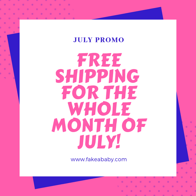 July Treat: FREE SHIPPING!