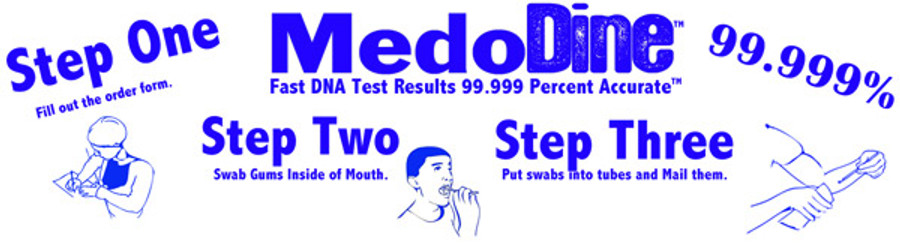 NEW STYLE Personalized Fake DNA Test