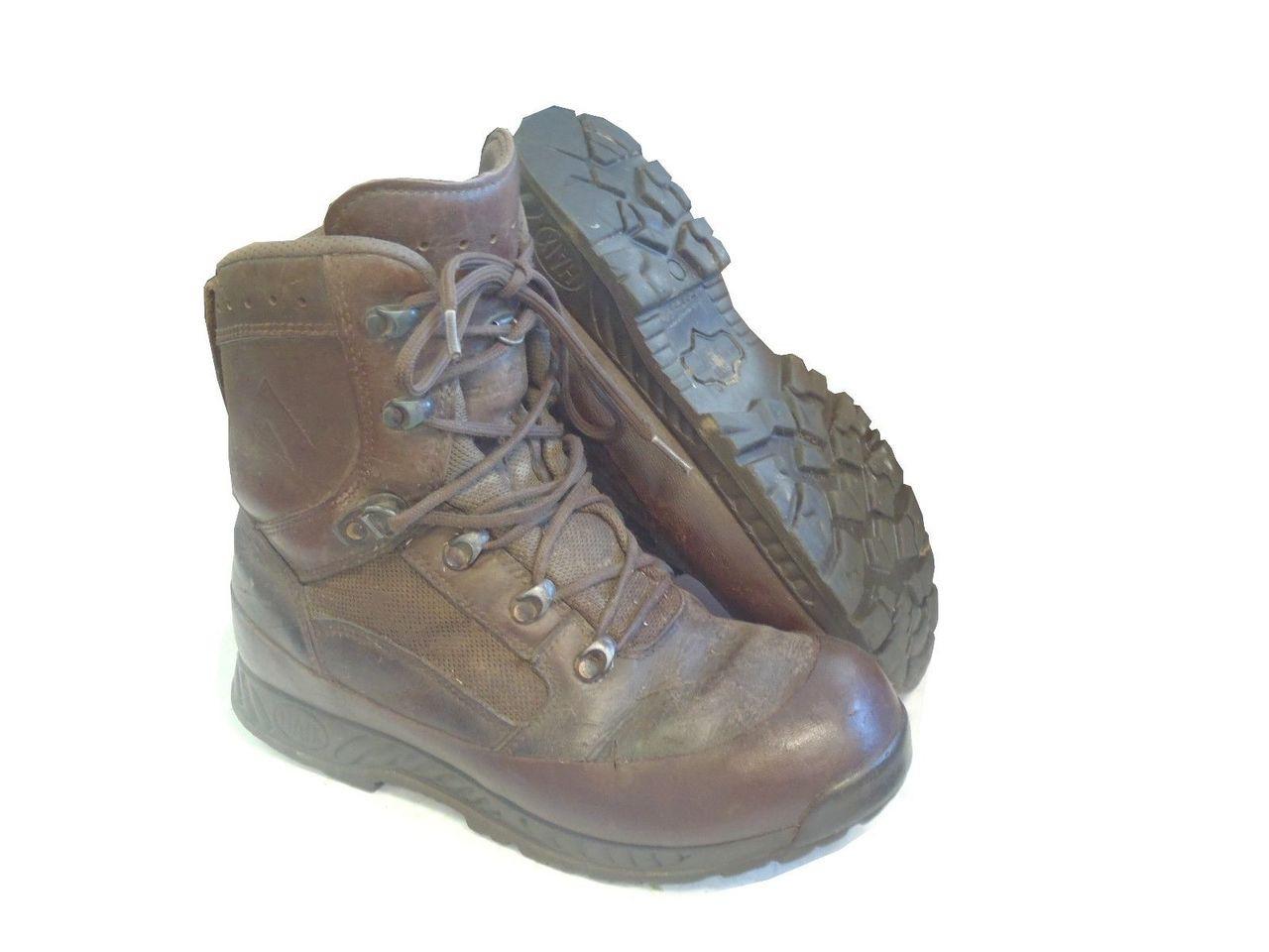 Army Haix Brown Boots