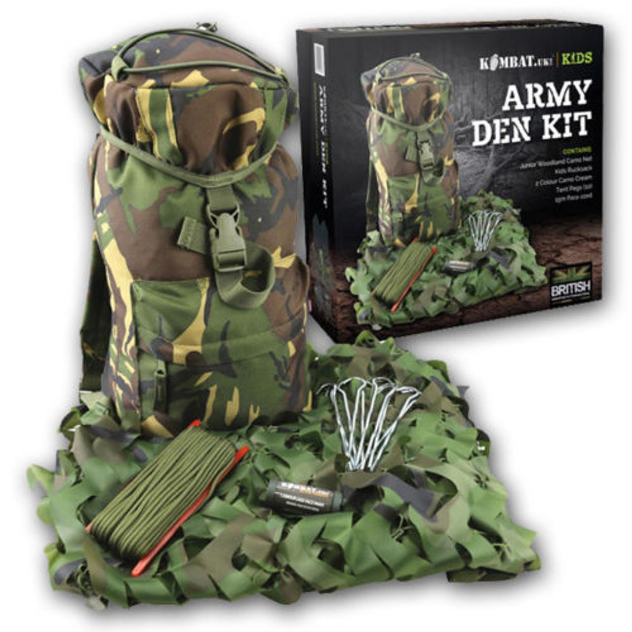 Kombat UK Childrens Dpm Camouflage Explorer Army Kit