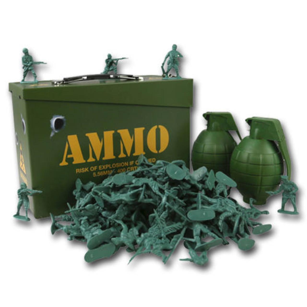 Children's Toy Soldier Ammo Box Play Set