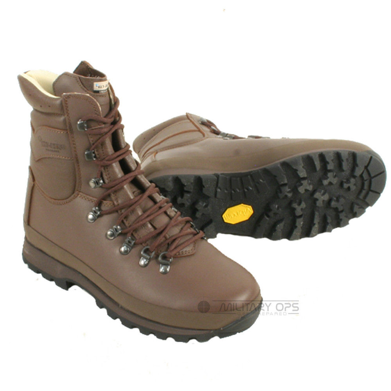 1aaaf5a725e Used British Army Issue Altberg Combat Brown Boot