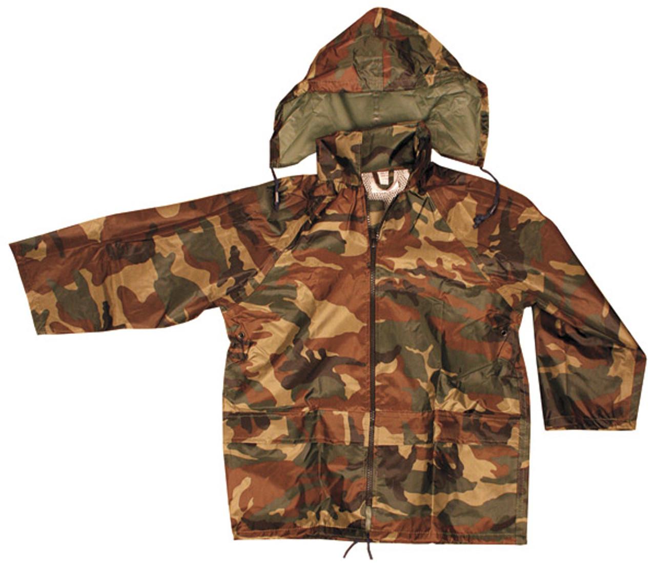 9a80db20060ad Kids Waterproof DPM Camo Jacket - MilitaryOps Ltd