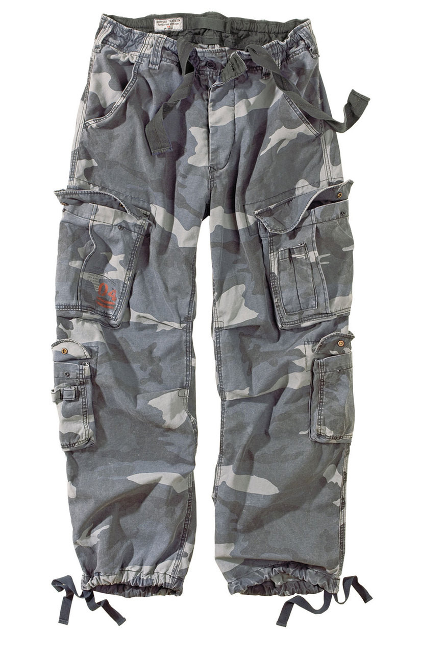 Surplus Airborne Vintage Trousers Night Camo - MilitaryOps Ltd 7fd2158666880