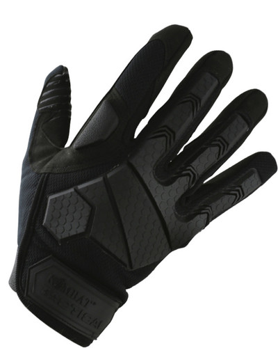 Kombat Alpha Fingerless Gloves Military Army Style Tactical Padded Olive Green