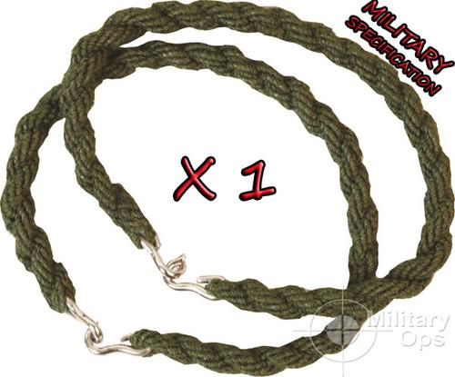 "KOMBAT GREEN MILITARY ELASTICATED BUNGEE CORD 76CM 30/"" PACK OF 2"