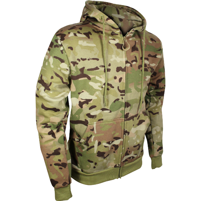 Viper Tactical Special Ops Fleece Military Zipped Hoodie Black