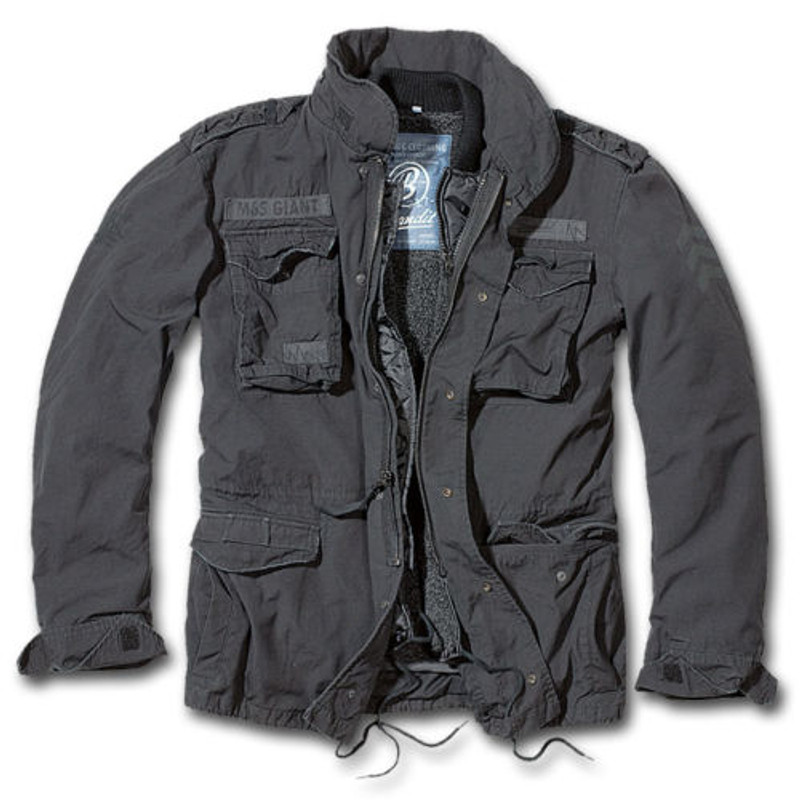116bc9c90fc0 Brandit M65 Giant Jacket Black