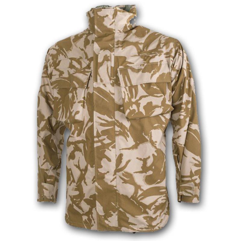 2862577c36959 New Genuine British Army MVP Jacket Desert Camo