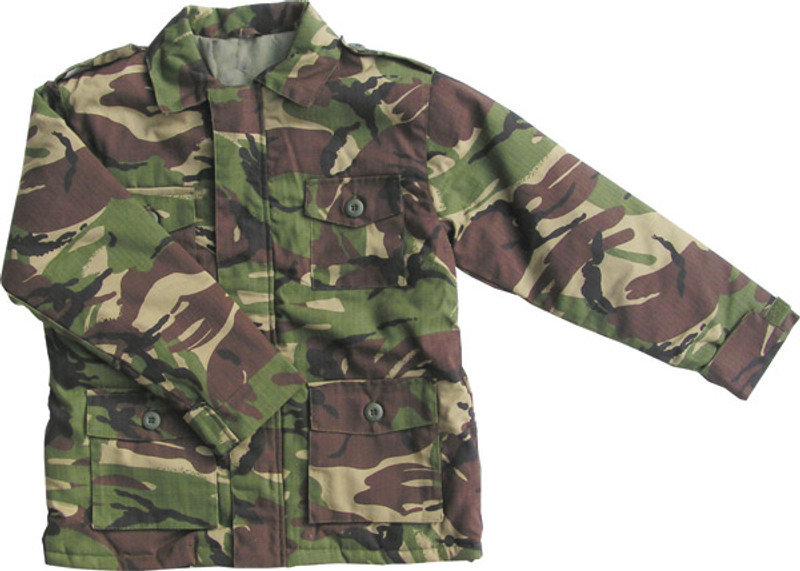 706043cdb Kids Solider 95 Safari Jacket DPM Camo Ripstop - MilitaryOps Ltd