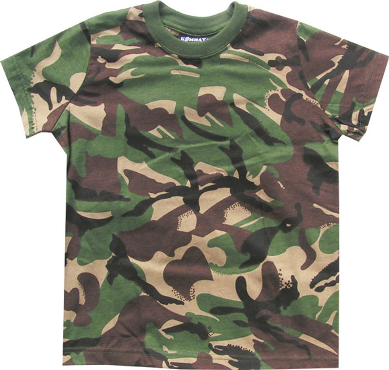 cde311b30 Kids Solider 95 T Shirt DPM Camo 100% Cotton - MilitaryOps Ltd