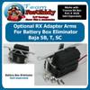 Batery Box Eliminator RX Adapter