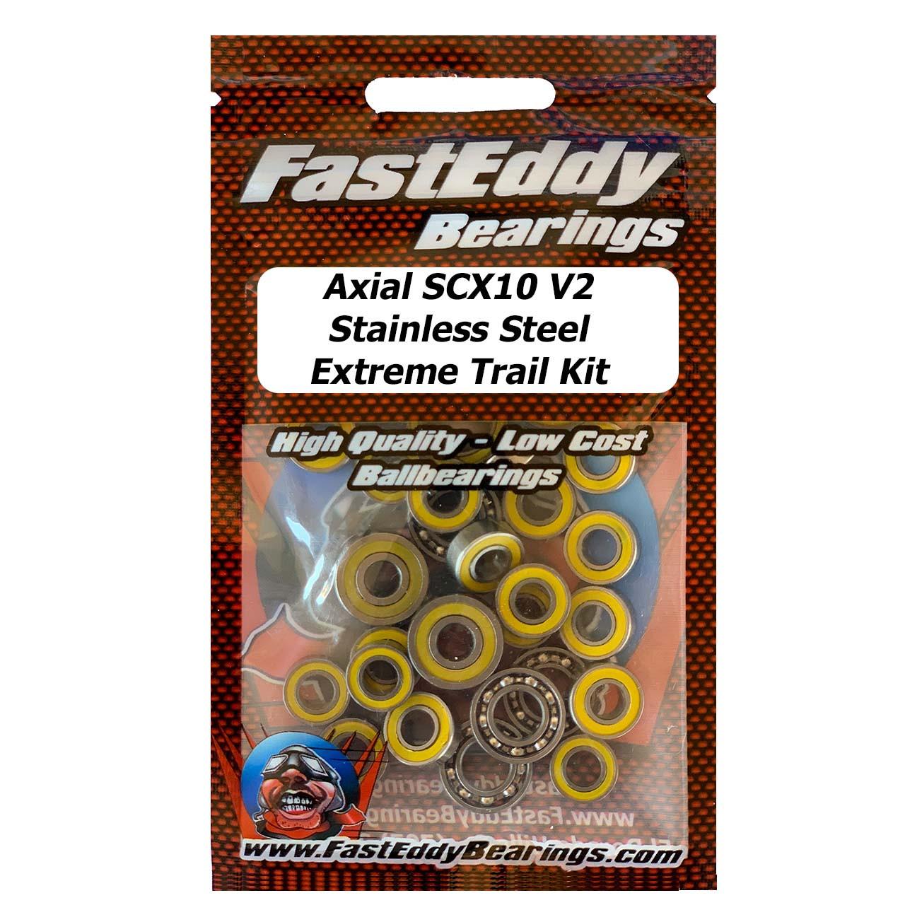 Team Fast Eddy Axial SCX-10 II Bearing Kit TFE-SCX10-V2