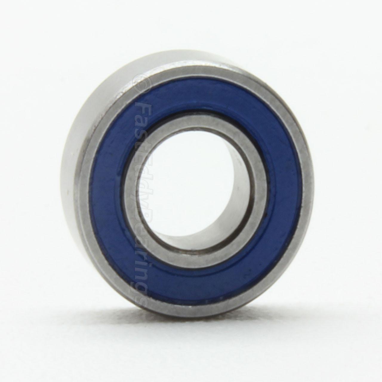 5x11x4 mm Yellow Rubber Sealed Ball Bearing Bearings 5*11*4 20pcs MR115-2RS