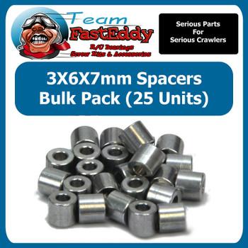 3X6X7 Spacers (25 Pack)