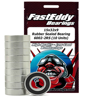 Traxxas 6068 Rubber Sealed Replacement Bearing 15x32x9 (10 Units)