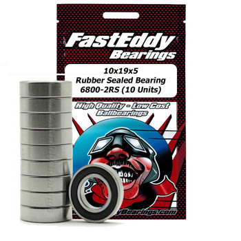 Traxxas 4889 Rubber Sealed Replacement Bearing 10x19x5 (10 Units)