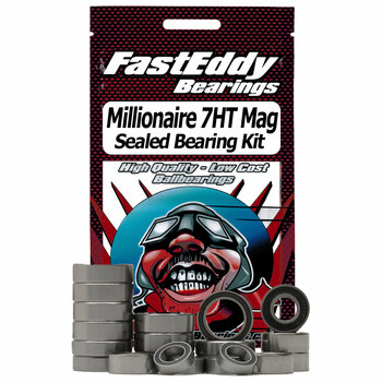 Daiwa Millionaire 7HT Mag Super Tune Baitcaster Angelrolle Gummi Sealed Bearing Kit
