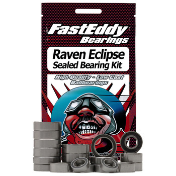 Raven Eclipse Baitcaster Fishing Reel Rubber Sealed Bearing Kit